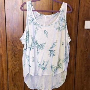 Old navy high-low tank